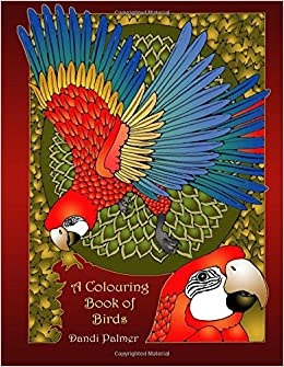 Amazon A Colouring Book Of Birds Coloring Books 9781906442453 Dandi Palmer