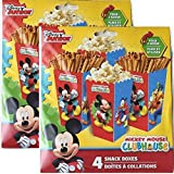 Mickey Mouse Clubhouse 8 Snack Boxes