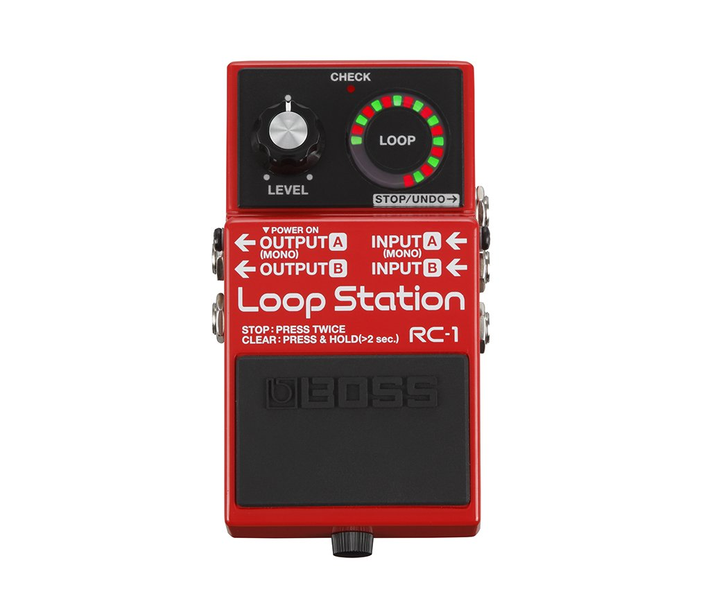 Boss Rc 1 Loop Station Musical Instruments Stagg Bass Guitar Wiring Diagram