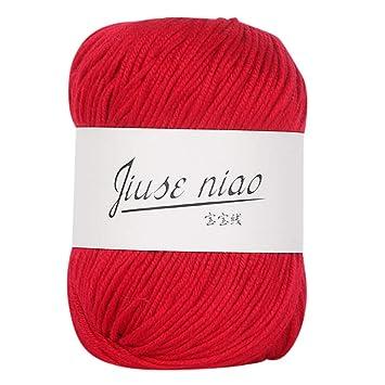 Häkelgarn Baumwolle 50g perfekt für stricken Handstrickgarn