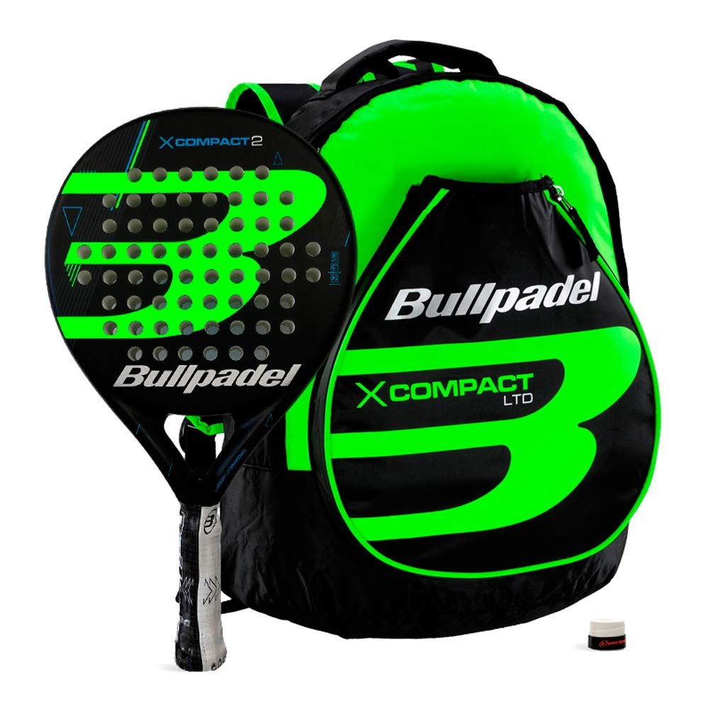 Bullpadel Pack X-Compact 2 Green: Amazon.es: Deportes y aire libre