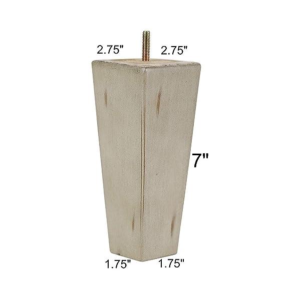 Amazon.com: ProFurnitureParts - Juego de patas de madera ...