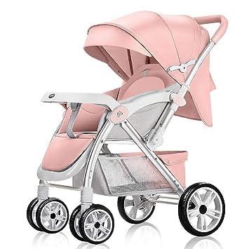 SJZC Cochecito Carrito Bebé Plegable AleacióN Aluminio Sentado ...