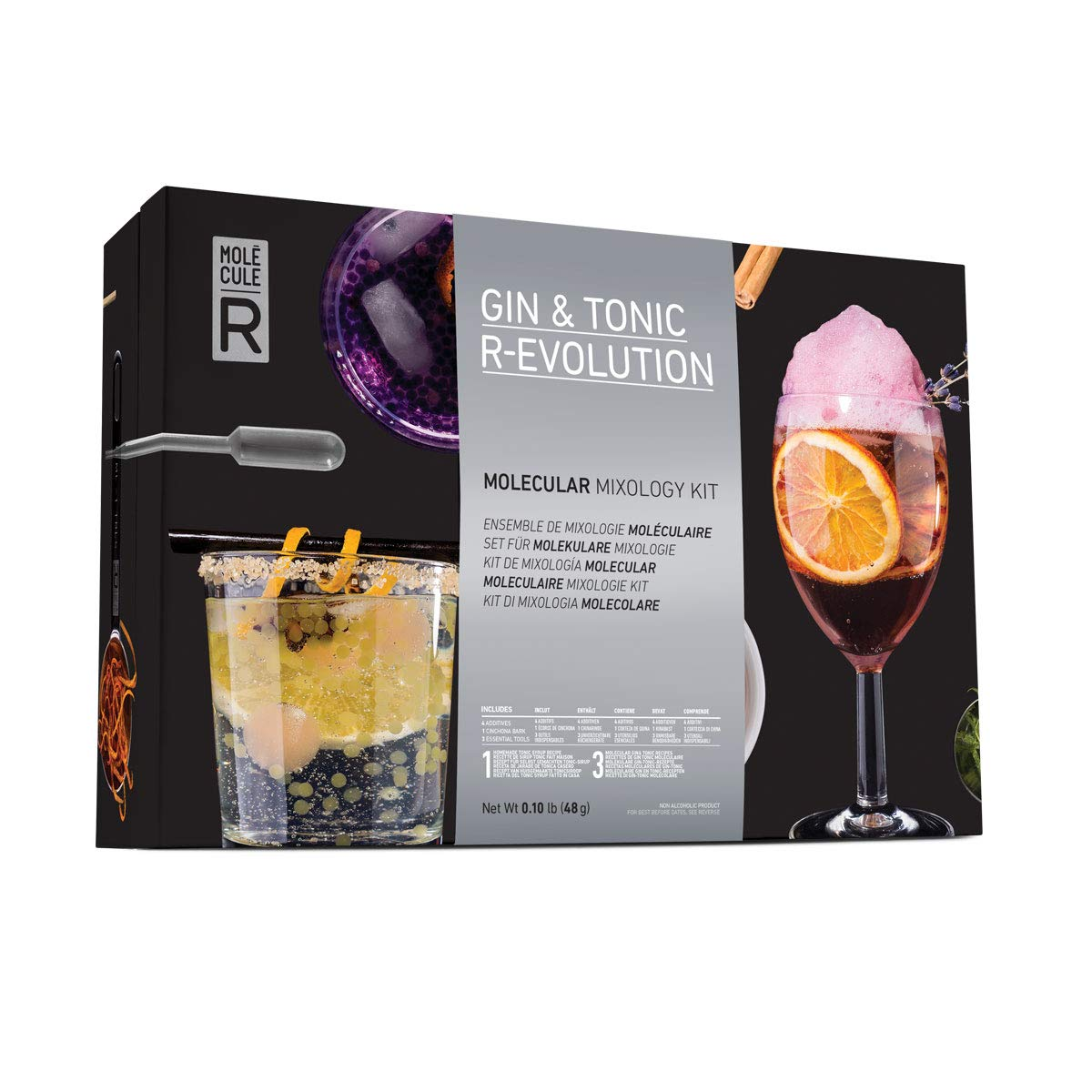 Molecule-R R-Evolution Gin y Tonic Kit: Amazon.es: Industria ...