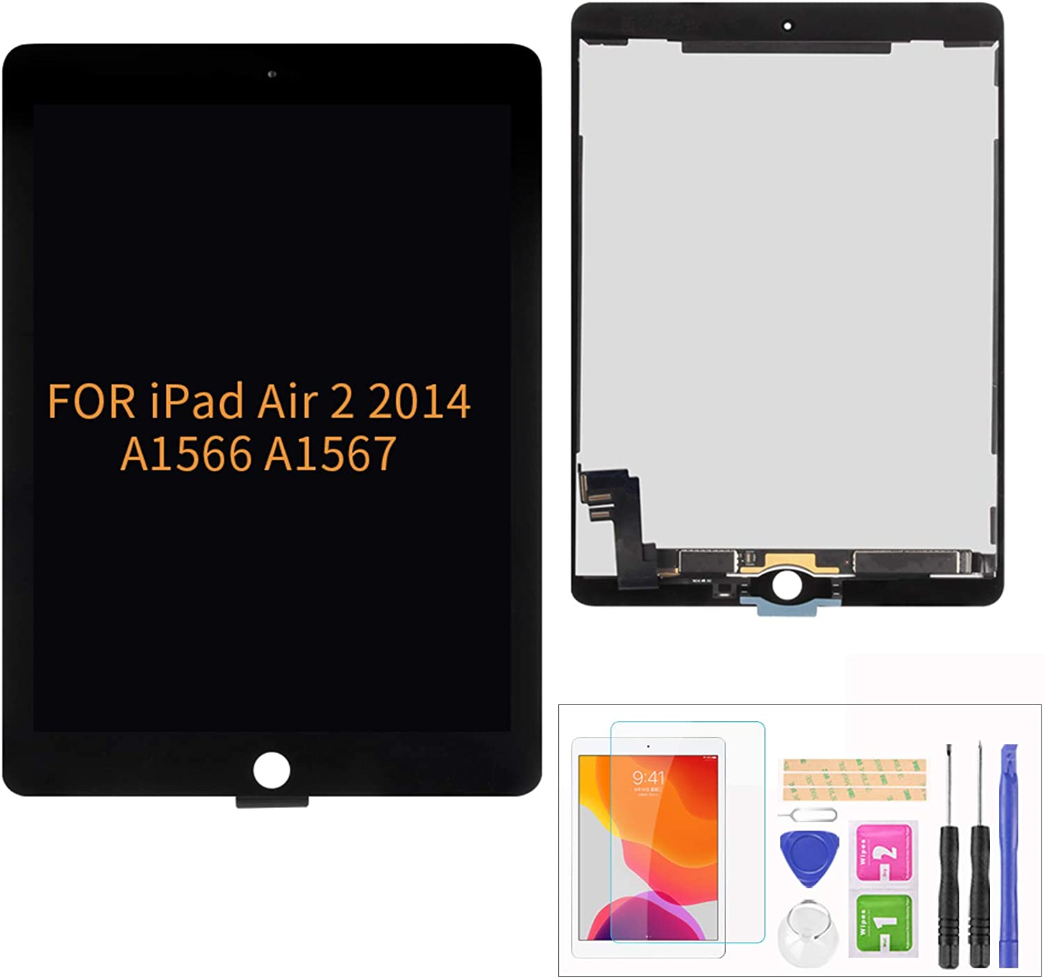 A-MIND Screen Replacement for iPad Air 2 2014 9.7