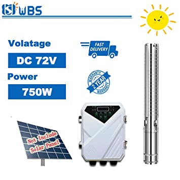 Wbs Pump 4 Dc Solar Bore Pump Submersible Stainless Steel