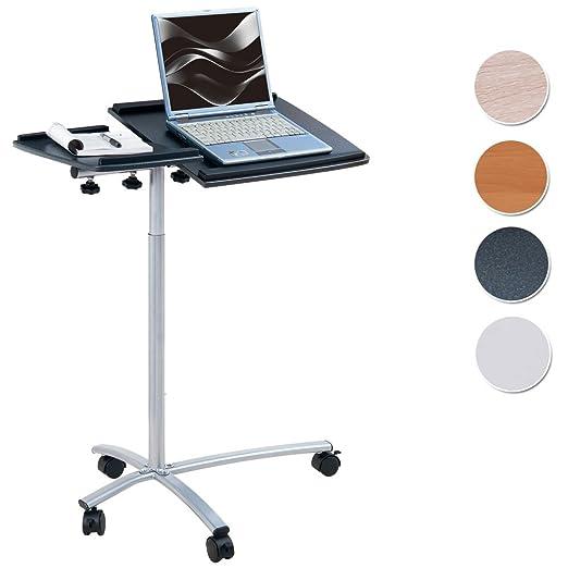 20 opinioni per SixBros. Office- Tavolino porta pc notebook nero/grigio- B-001N/58- MDF granito