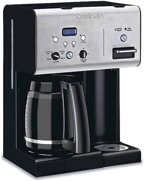 Cuisinart CHW-12 Coffee Plus 12-Cup Programmable Coffeemaker w// Hot Water Black