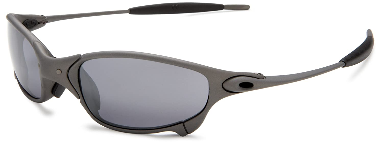 Amazon.com  Oakley Men s Juliet Metal Iridium Sunglasses,X-Metal Frame Black  Lens,one size  Clothing 5c6f978d31