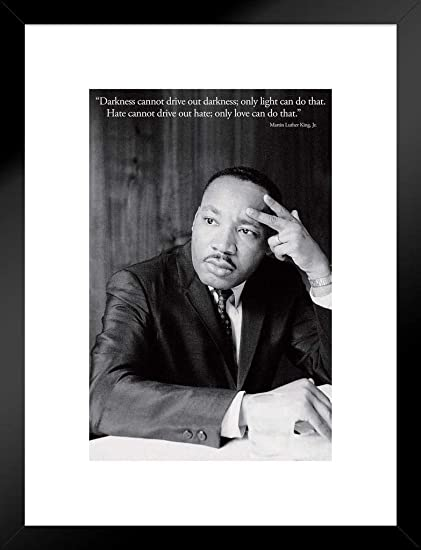 Amazon Pyramid America Martin Luther King MLK Love Quote Matted Impressive Martin Luther King Love Quotes