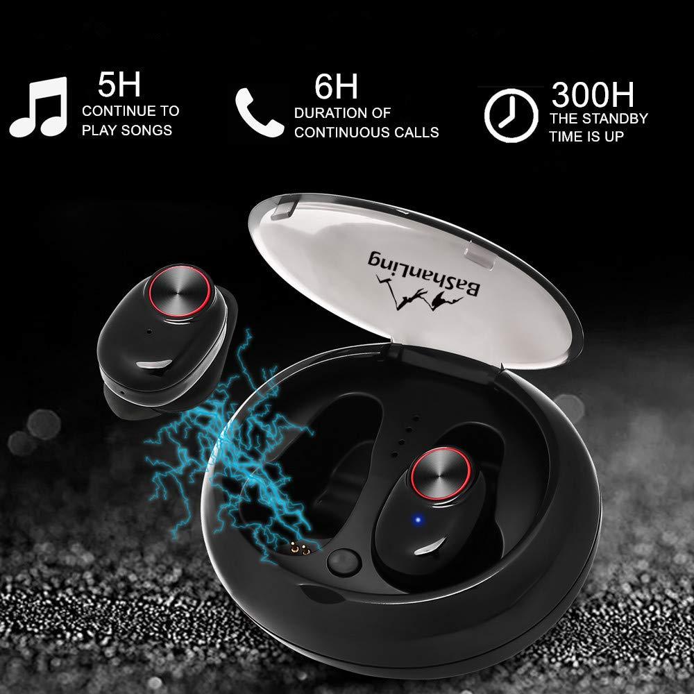 Wireless Earbuds-True Wireless Earbuds Bluetooth 5.0-Wireless Headphones-TWS Mini in Ear Wireless Headphones 3D Stereo Sound-Wireless Stereo Headset-Sports Earphones Headset for Sports Running
