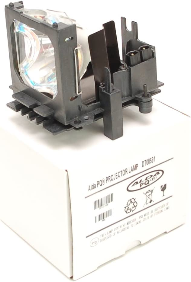 l/ámpara con carcasa CP-X1200W Proyectores CP-X1200A L/ámpara de proyector compatible con DT00591 SP-LAMP-015 PRJ-RLC-011 para HITACHI CP-X1200 Alda PQ-Premium
