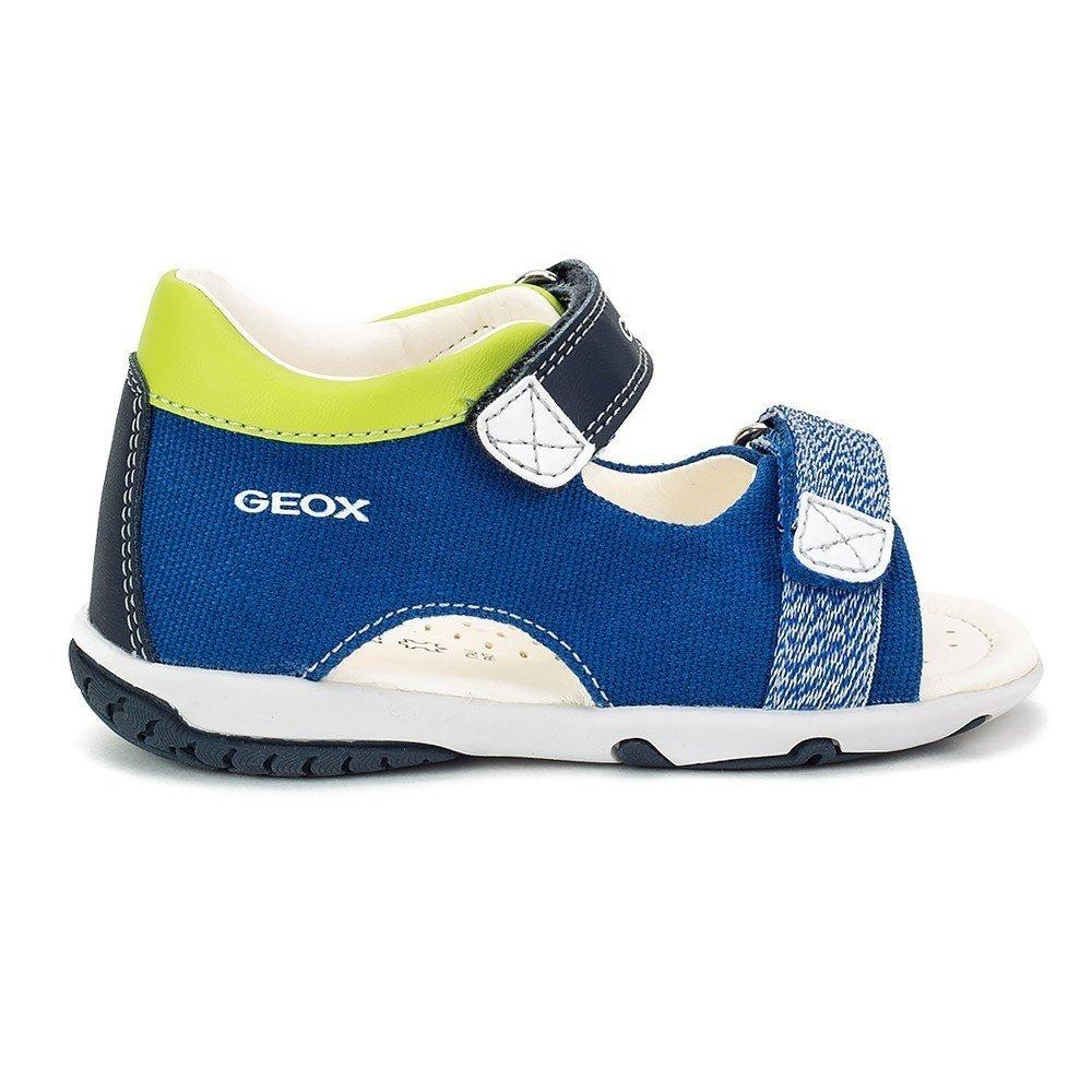 Geox Sandal Elba Boy - B82L8B01054C4227 - Color Blue-Navy Blue - Size: 5.5