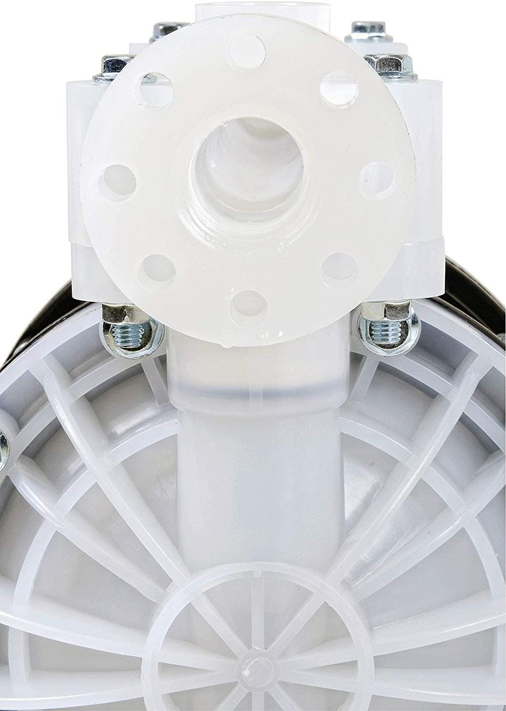 24GPM Windscreen /& Similar Chemicals Fuelworks Double Diaphragm Transfer Pump 1 FPM//FKM 90LPM Heavy Duty Polypropylene Air Operated Pneumatic for Bio-Diesel