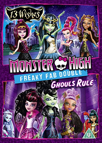 Monster High - Freaky Fab Double: 13 Wishes & Ghouls Rule [Region 2 DVD] (Ghouls Rule Dvd)