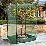 Pop-Up Bird Net with Door - 4' L x 4' W x 6' H