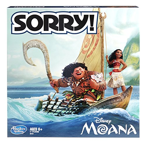 Top hasbro sorry game disney moana edition