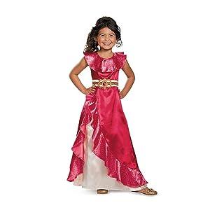 Elena Adventure Dress Classic Elena of Avalor Disney Costume, Medium/7-8