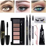 BONNIE CHOICE 8 PCS Eye Makeup Kits for Women, Eye Makeup Set for Beginners, Includes Eyebrow Pencil,Eyeliner Pen…