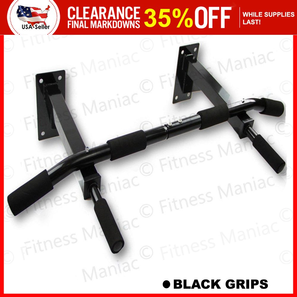 Fitness Maniac Wall Mount Pull Up Bar