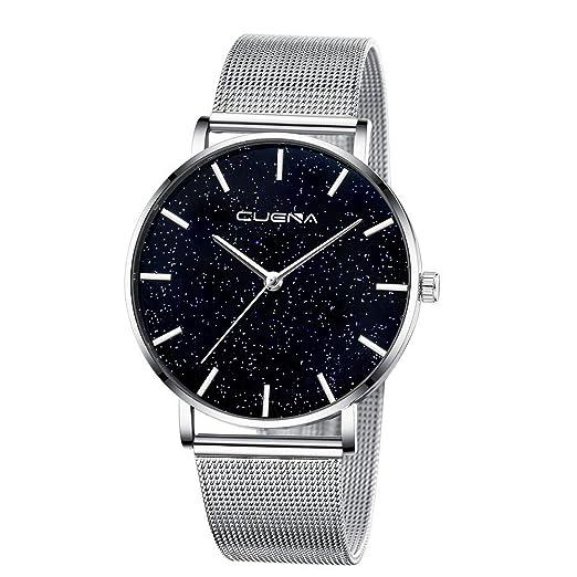 BBestseller Reloj de Pulsera Elegante para Mujer CUENA Relojes de Cuarzo con Cinturón Moda Accesorios Watches