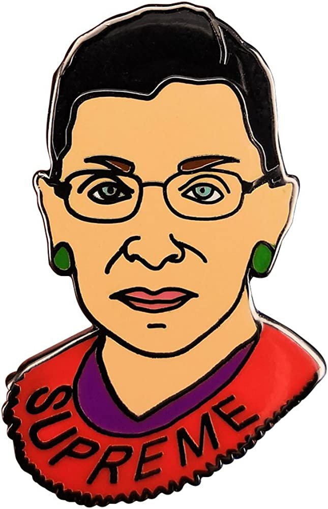 pinback, magnet, or keychain 1.75 inchLive Like RBG button made in honor of Ruth Bader Ginsburg