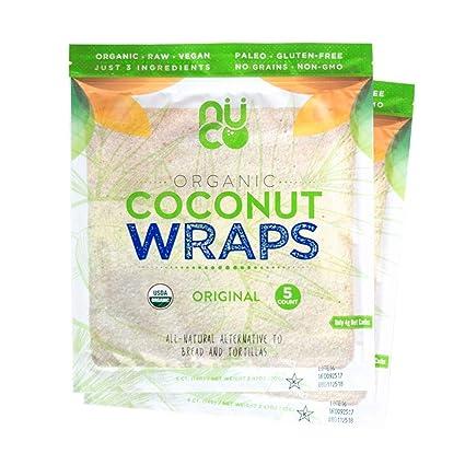 Envolturas Nuco de coco orgánico certificado, sin ...