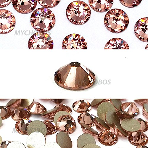 VINTAGE ROSE (319) pink Swarovski NEW 2088 XIRIUS Rose 16ss 4mm flatback No-Hotfix rhinestones ss16 144 pcs (1 gross) *FREE Shipping from Mychobos (Crystal-Wholesale)*
