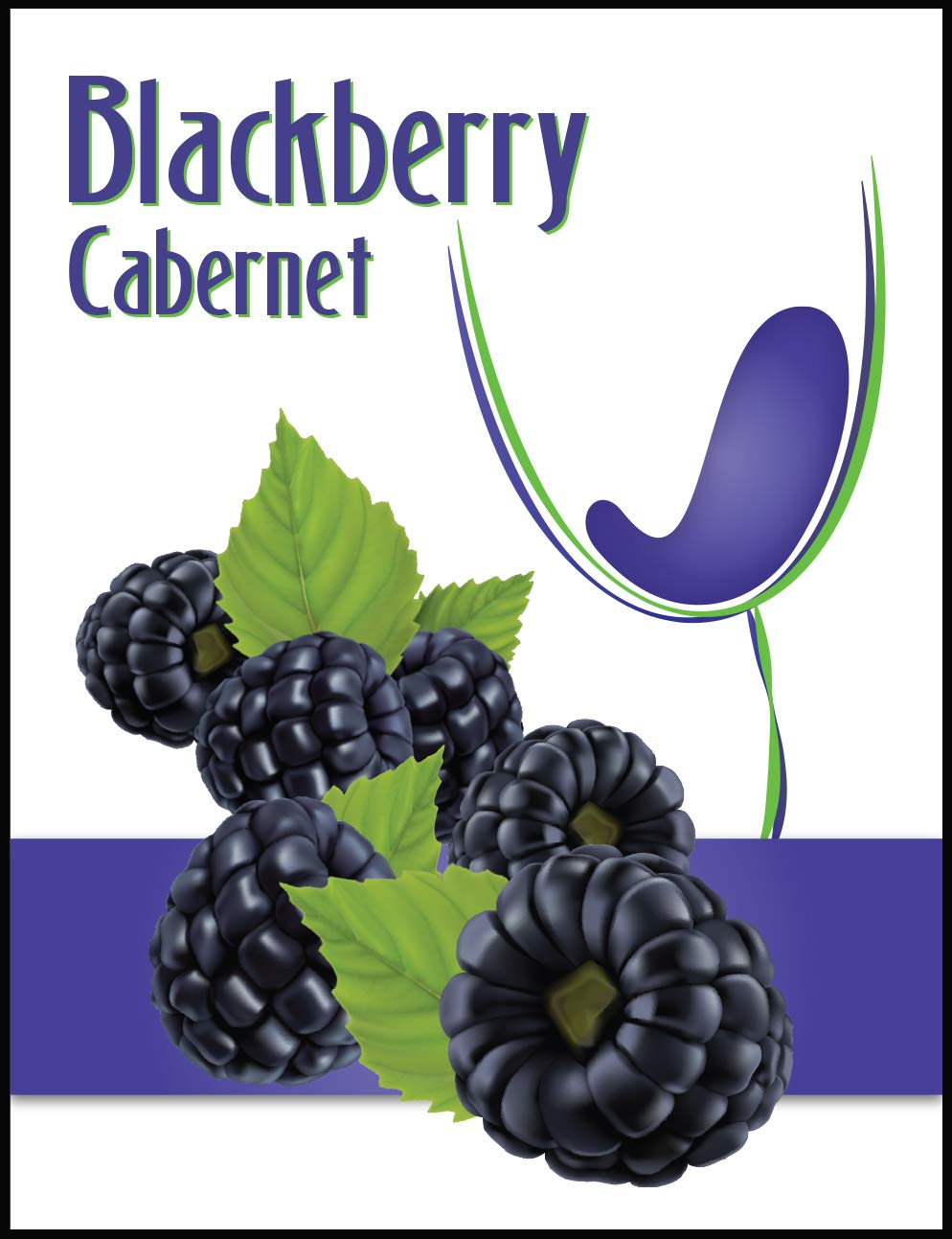 Island Mist Blackberry Cabernet Labels