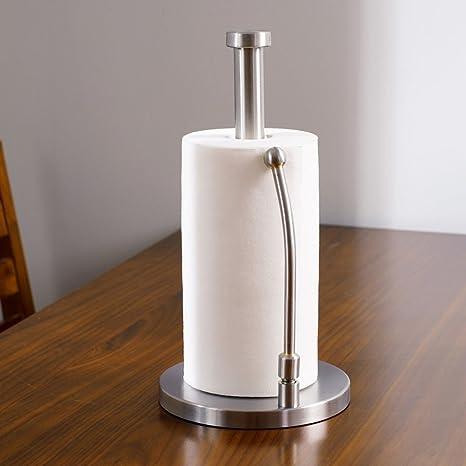 "viemode pie rollo de papel toalla soporte cocina – 12 ""X 6.8"" vertical"
