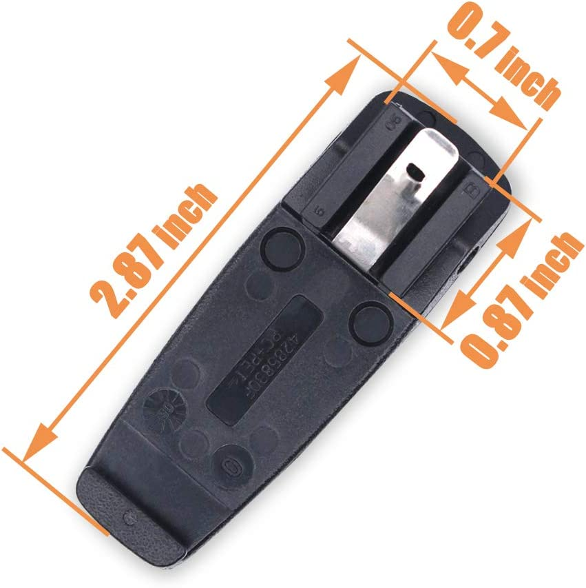 ABSTDEAL RLN5644 Belt Clip for Motorola DP1400 DEP450 PR400 CP200 CP200D CP200XLS CP040 CP140 CP150 6 PCS