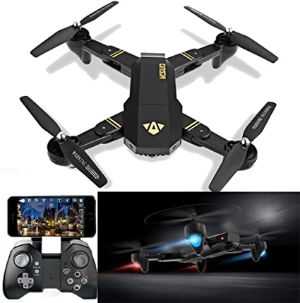 WiFi FPV RC Quadcopter Faltbare Mini  Drone 720P HD Kamera JY018 Geschenk VR