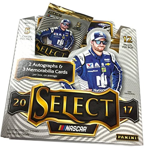 (2017 Panini Select NASCAR Racing HOBBY box (12 pk))