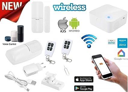 Alarma Casa antirrobo inalámbrico combinador GSM In-Line Wi ...
