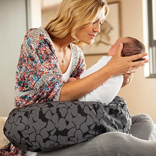 Bebe au Lait Organic Cotton Nursing Pillow Slipcover, Midnight by Bebe au Lait (Image #1)