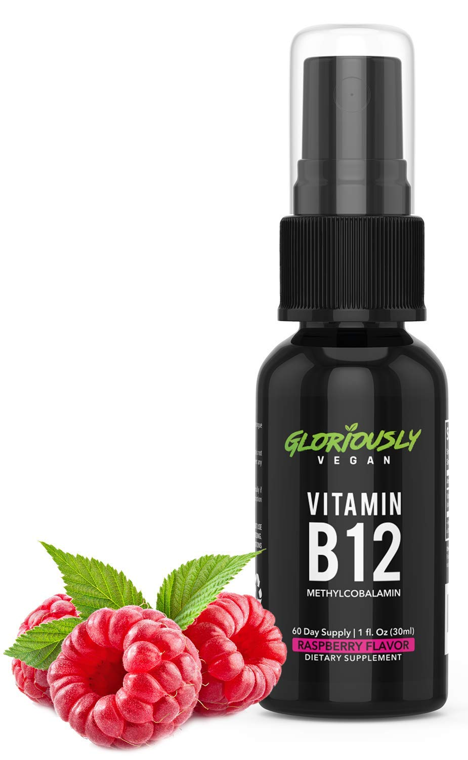 Amazon.com: gloriosamente Vegano vitamina B12 Spray – 2 mes ...
