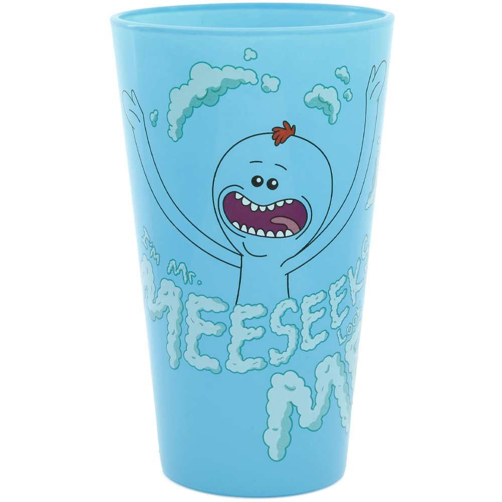 Rick and Morty Exclusive Pint Glass - Meeseeks Classic Imports SYNCHKG116290