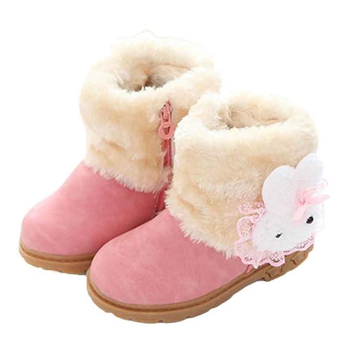 ec69d718e Amazon.com  Elevin(TM)Cute Fashion Winter Baby Children Girl Style ...