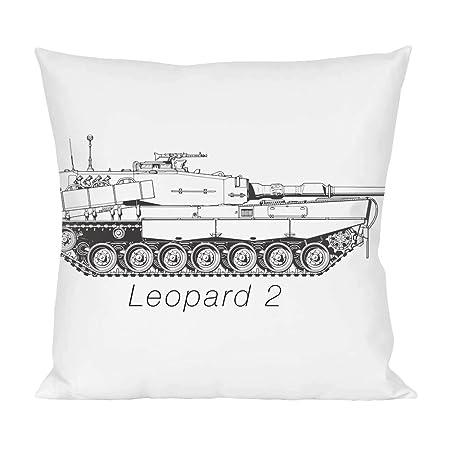 Leopard 2 blueprint pillow amazon kitchen home leopard 2 blueprint pillow malvernweather Choice Image