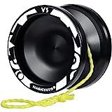 MAGICYOYO Professional Responsive Yoyo V3, Aluminum Yo Yo for Kids Beginner, Replacement Unresponsive Ball Bearing for Advanc