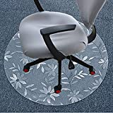 Pvc mats transparent wood floor protector mat computer chair mat round mats-B 120x180cm(47x71inch)