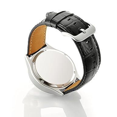 Samsung Gear del Samsung S3 reloj es un par de hombre y mujer de piel