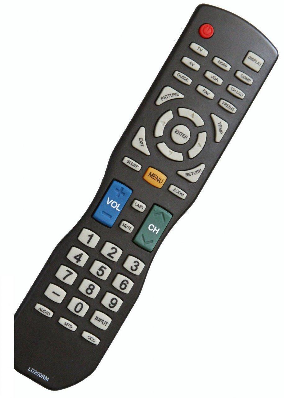 Control Remoto Smartby Apex LED LCD TV LD200RM LD220RM LD...