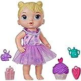 Boneca Baby Alive Bebê Festa de Presentes - Com roupa e acessórios de festa - E8719 - Hasbro