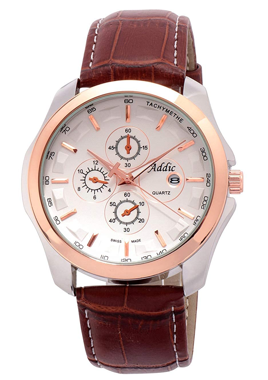 Addic Rosegold Dial Analogue Billionaire Limited Edition