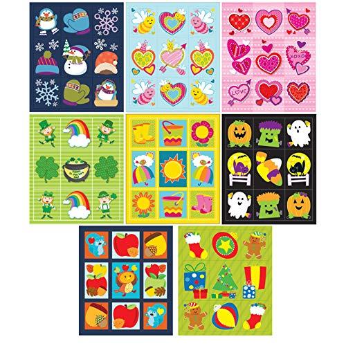 Carson-Dellosa Seasonal Prize Pack Sticker Set -