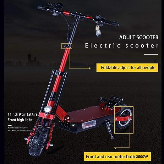 Amazon.com: Jueshuai 5000W 10 inch Electric Scooter 2 Motors ...