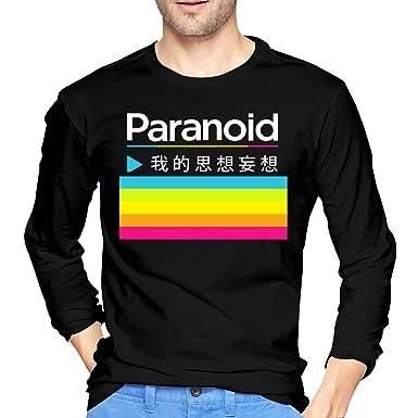 98eb88bcbdd034 Amazon.com  NeedLove Mens Vintage Polaroid Logo Long Sleeve T Shirt Black   Clothing