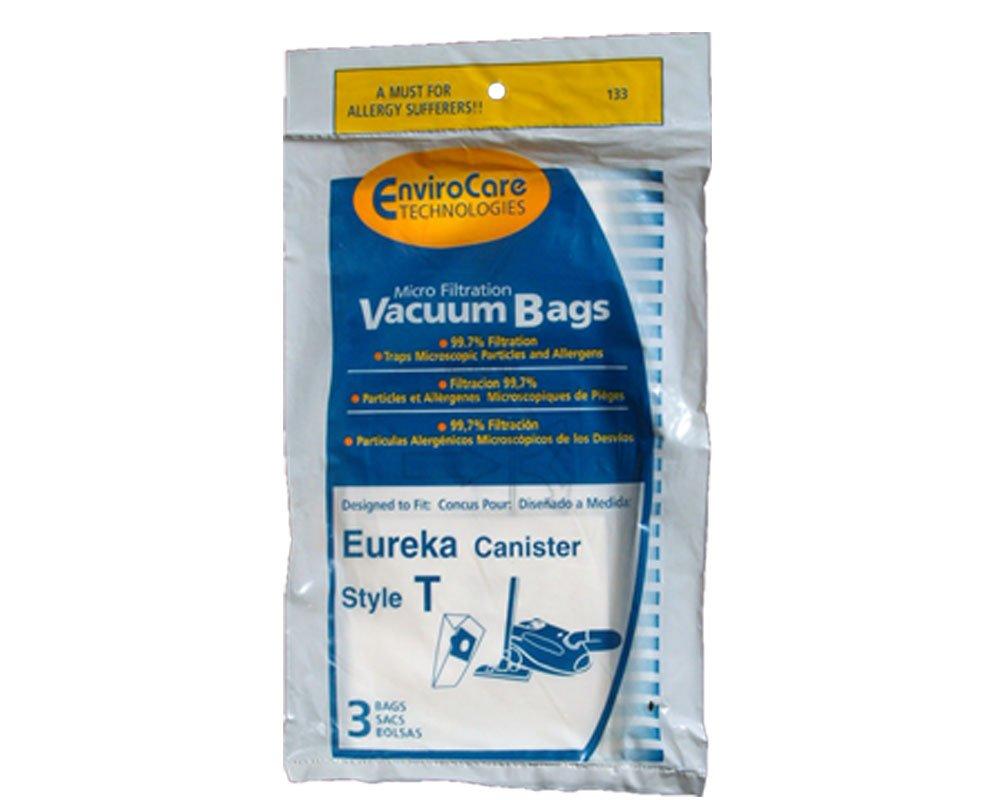 Eureka Style T Vacuum Bags (3 Pack) By Envirocare