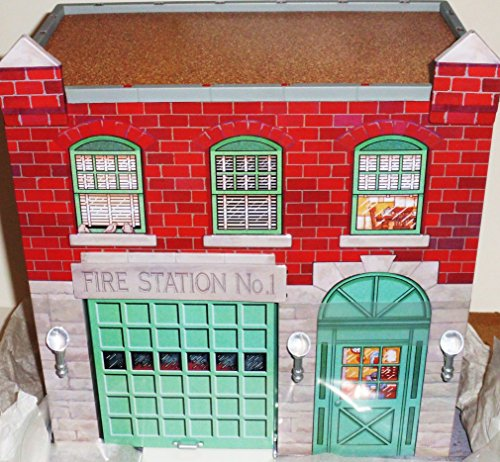 QHG3617 Hallmark Fire Station #1 Kiddie Car Corner 1999 Kidd